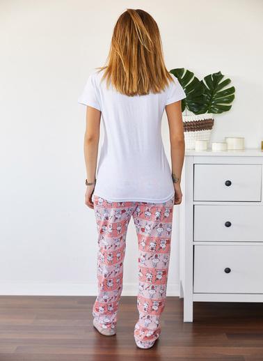 XHAN Pijama Takım Beyaz